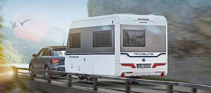 Exterior del modelo Knaus Travelino 400 Ql