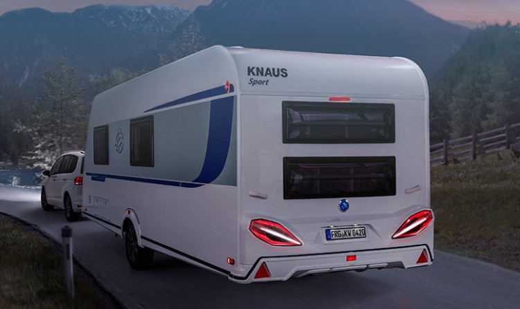Knaus SPORT SILVER SELECTION 500 KD SilverSelection - Exterior
