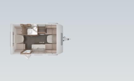 Knaus SPORT 400 LK - Plano - Distribución