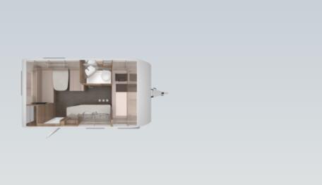 Knaus SPORT 420 QD - Plano - Distribución
