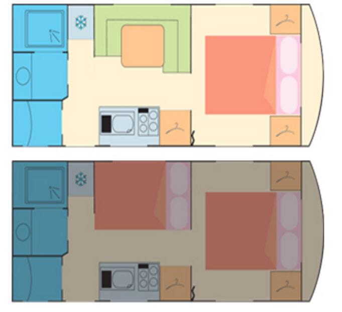 La Mancelle ELEGANCE 550 CT - Plano - Distribución