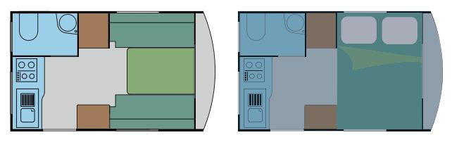 Silver MINI SILVER 290 - Plano - Distribución