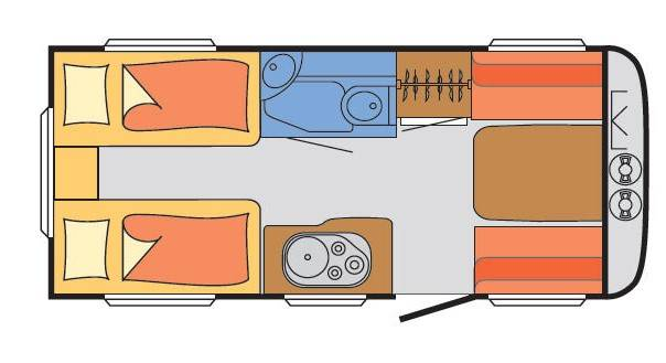 Sunlight Njoy C-46-V - Plano - Distribución