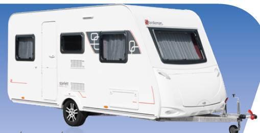 Sterckeman Starlett Comfort 390 CP - Exterior