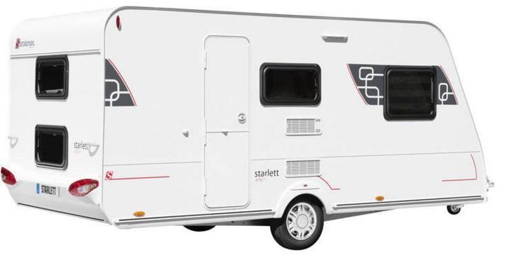 Sterckeman Starlett 450 CP - Exterior