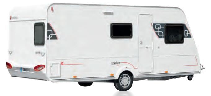 Sterckeman STARLETT COMFORT 470 CP S/XL - Exterior