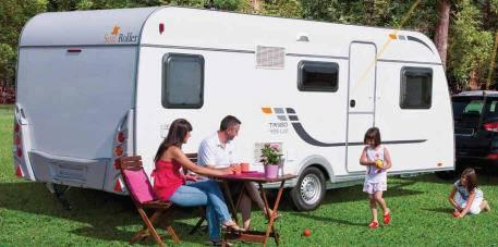 Exterior del modelo Sun Roller Tango Home Caravan