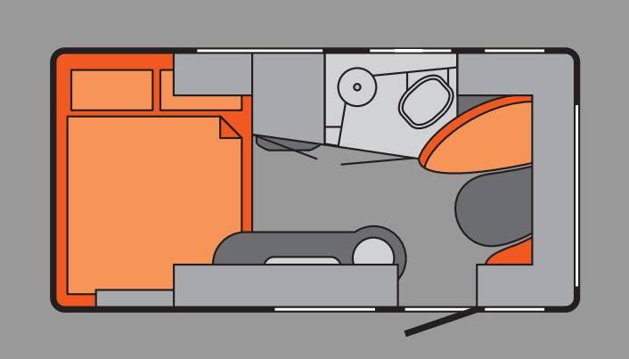 Tabbert TAB L 400 TD - Plano - Distribución