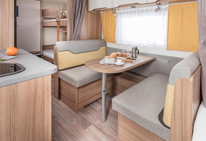 Weinsberg Cara Two 550 QDK - Interior