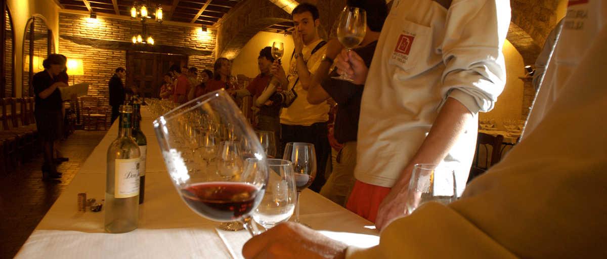 Cata de vino