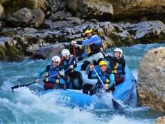 rafting escapada