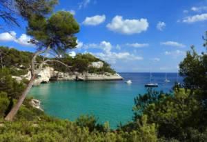 Menorca con niños y de camping