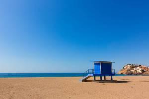 Las playas de Mazarrón desde un camping