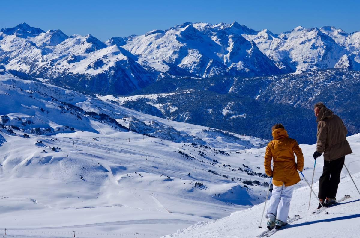 Vista-Esquiadores
