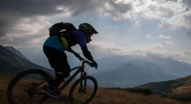 BTT en el Pirineo aragonés