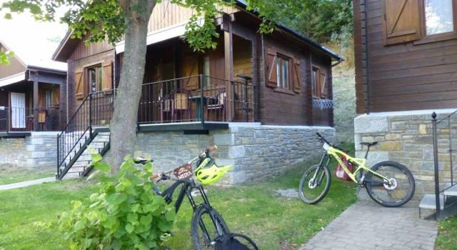 Camping para ciclistas