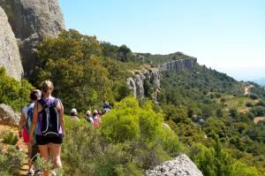 Deportes de aventura en el camping Serra de Prades