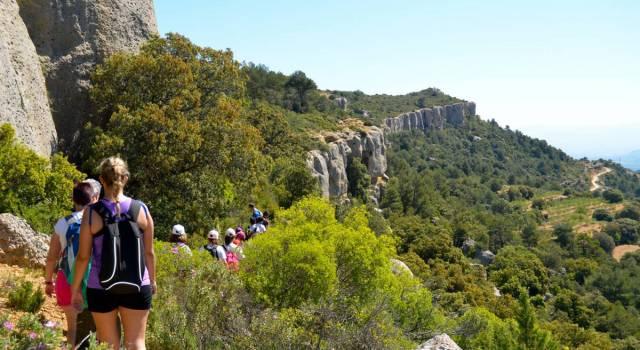 Senderismo desde el camping Serra de Prades