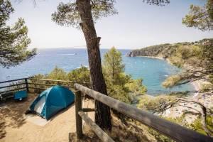 Un camping para disfrutar de las mejores calas de la Costa Brava