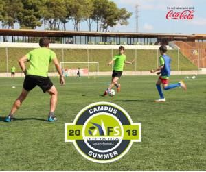 Campus de fútbol infantil en Sangulí Salou