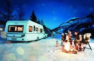 caravana invierno