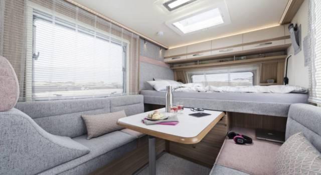 Interior caravana Fend Bianco Emotion