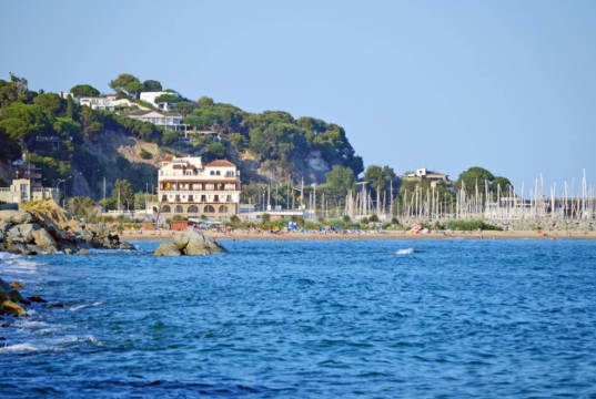 Vista de Arenys de Mar