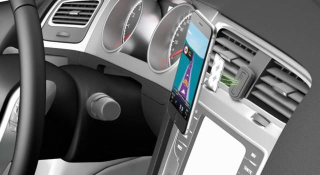 Cellularline soporte coche móvil