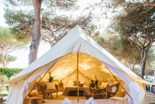 alojamientos tipo glamping en el camping los villares