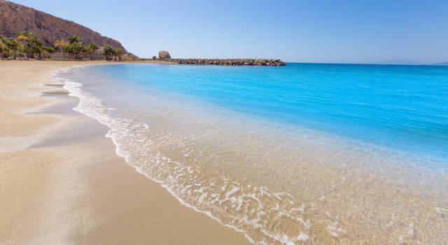 playa aguilas murcia