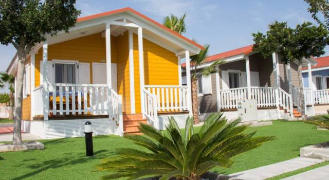 bungalow camping lo monte