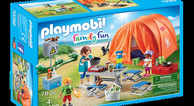 Tienda de Campaña playmobil campingsalon.com