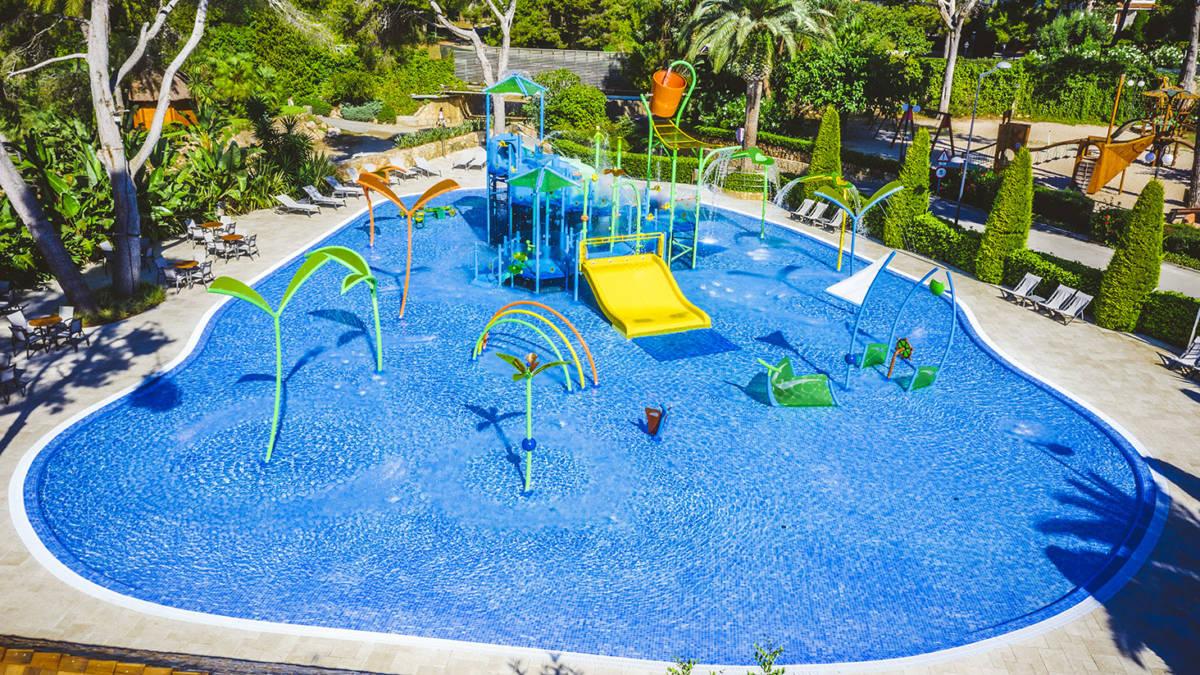 Playa Montroig Splash Pool