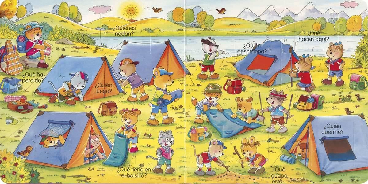 libros de acampada