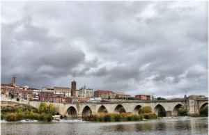 Puente de Tordesillas, Valladolid.
