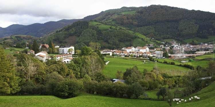 Leitza es el municipio donde se rodó ocho apellidos vascos.