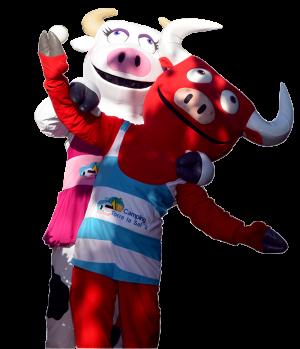 Bravito y Mansita, las mascotas del Torre la Sal 2.