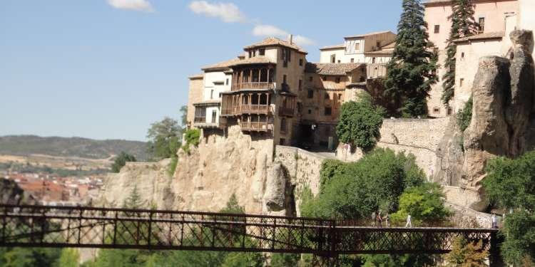 Las casas colgadas de Cuenca.
