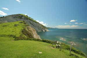 El Geoparque de la costa vasca