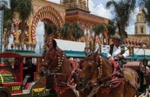 La Feria de Córdoba se celebra a finales de mayo.