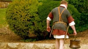Aguador romano en Tarragona.