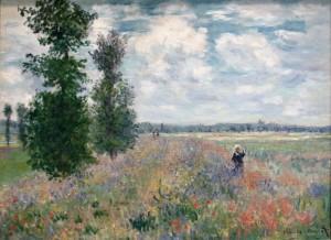 Pintura de Claude Monet.