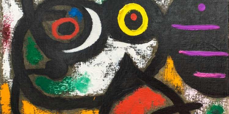 Cuadro de Joan Miró.