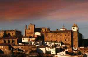 Vista panorámica de Cáceres.
