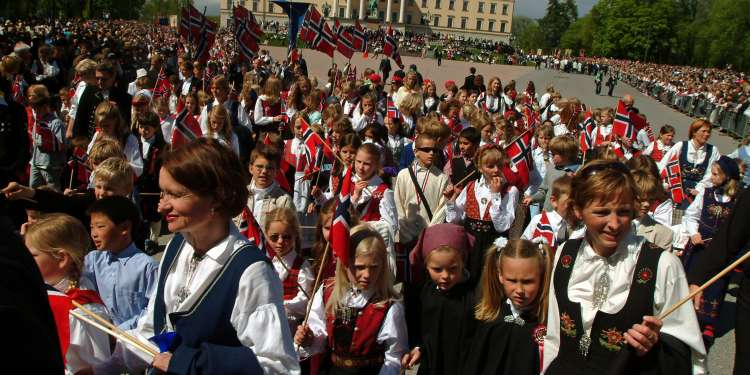 Día Nacional de Noruega © Visit Norway.