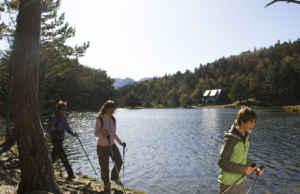 Senderismo con niños en la Val d'Aran.