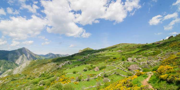 Parque de Somiedo, en Asturias.