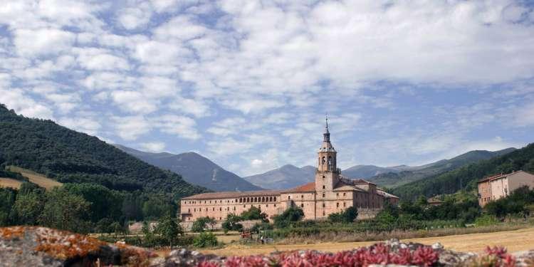 Monasterio de Yuso, en La Rioja.