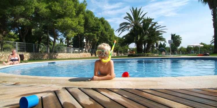 Relax y playa en la costa de Barcelona.