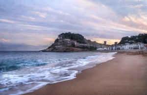 Tossa de Mar, en la Costa Brava.